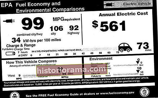 Πώς παίρνει ένα ηλεκτρικό αυτοκίνητο 99 μίλια ανά γαλόνι; Οι αξιολογήσεις MPGe εξηγούνται