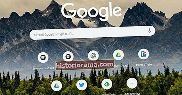 Ako zmeniť pozadie Google v prehliadači Chrome