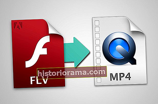 Ako prevádzať súbory FLV na MP4