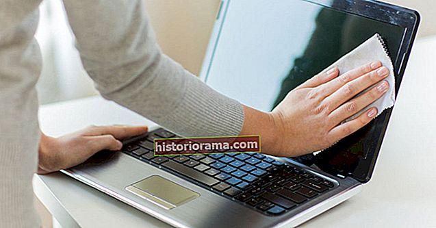 Ako čistiť obrazovku notebooku