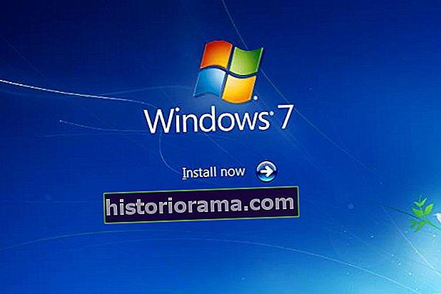 Ako preinštalovať Windows 7