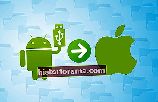 Kako poslati datoteke iz Androida v Mac OS X