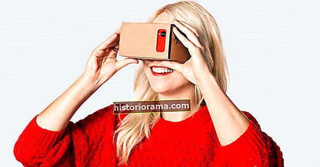 Маєте стару картонну коробку? Зробіть власні окуляри VR за ціною менше 10 доларів