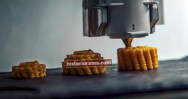 Od pixelů po talíř se jídlo stalo novou lahodnou hranicí 3D tisku