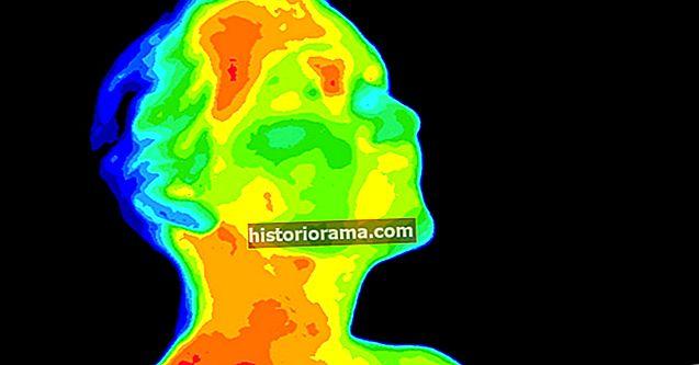 Termální zobrazování může odhalit, jak tvrdě pracuje váš mozek
