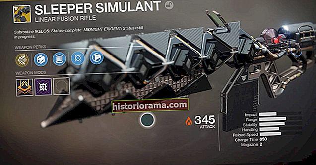 Jak získat Sleeper Simulant v Destiny 2: Warmind