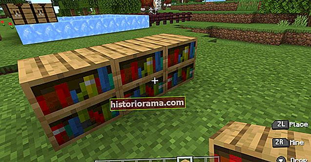 Як зробити книжкову полицю в Minecraft