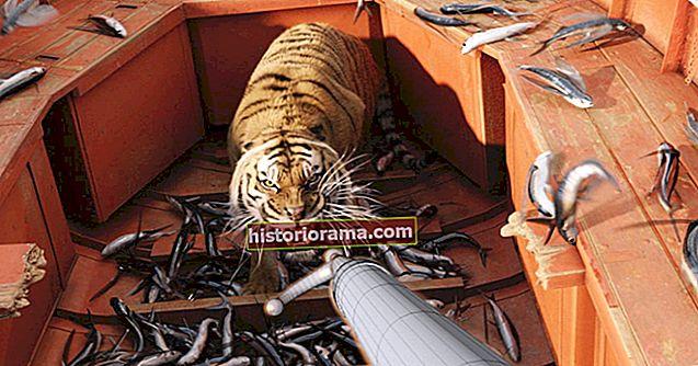 Oscar Effects: Πώς το Life Of Pi έπιασε μια ψηφιακή τίγρη από την ουρά