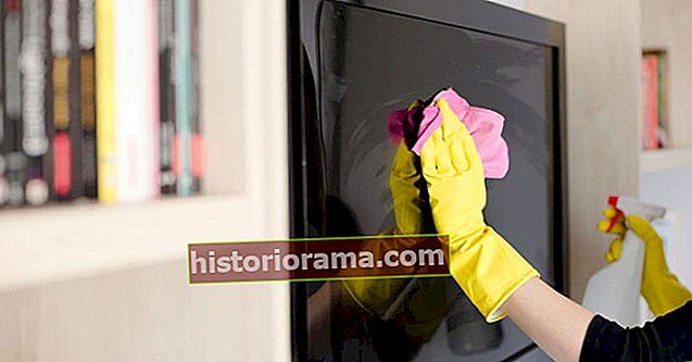 Як почистити екран телевізора