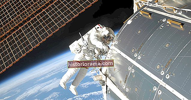 Sådan ser du NASAs milepæl 300. rumvandring
