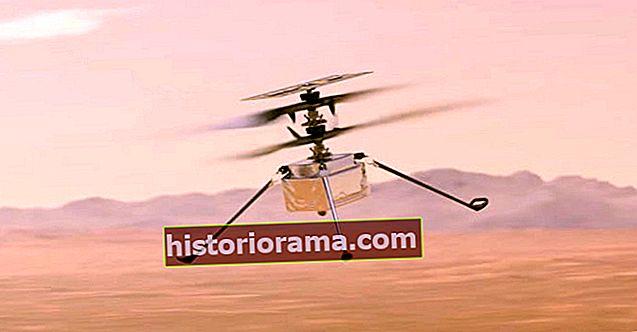 Se hvordan NASA planlægger at indsætte den første nogensinde Mars-helikopter