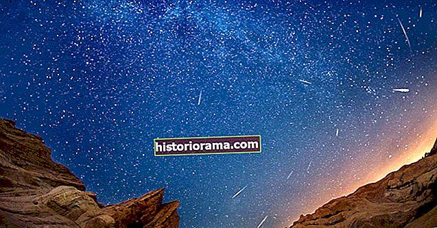Jak fotografovat meteorický roj Perseid 2020