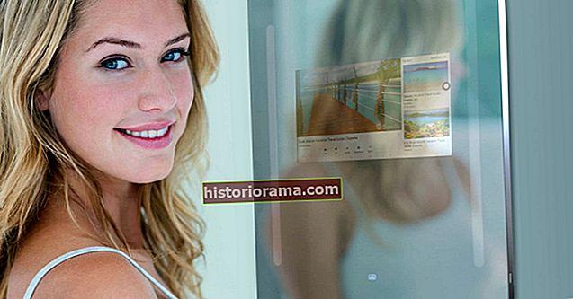 Zkontrolujte své vlasy - a svůj e-mail - pomocí inteligentního zrcadla Capstone Connected Home