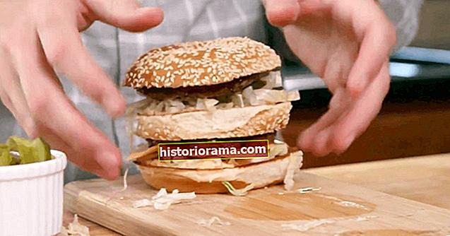Jak si vyrobit autentický McDonald's Big Mac přímo ve vaší kuchyni