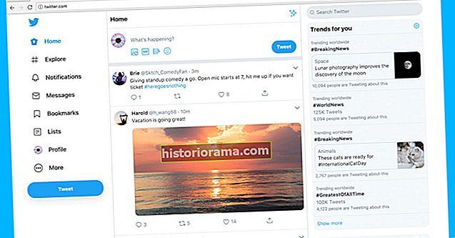 Чи робить новий дизайн Twitter вас сварливим? Використовуйте це розширення, щоб повернути час назад