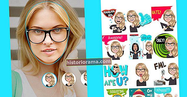 Klávesnice Mirror Emoji Keyboard promění selfie v postavy, které vypadají jako vy