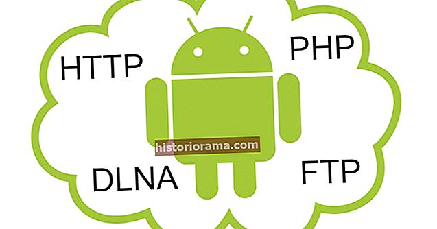 Jak přeměnit telefon nebo tablet Android na web, soubor nebo server médií