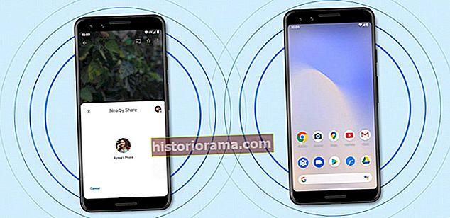 """Як використовувати функцію """"Поділитися поблизу"""" на пристроях Android"""