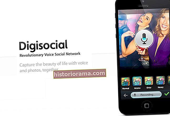 Завдяки функціям для очей, вух та ... пальців, Digisocial хоче стати вашою універсальною соціальною мережею