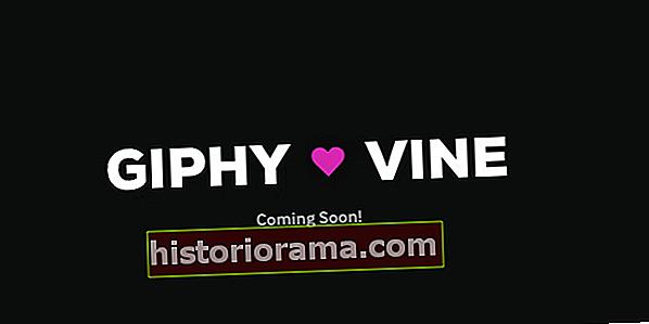 Giphy дозволяє вам імпортувати ваші облікові записи Vine і конвертувати ваші відео в GIF-файли