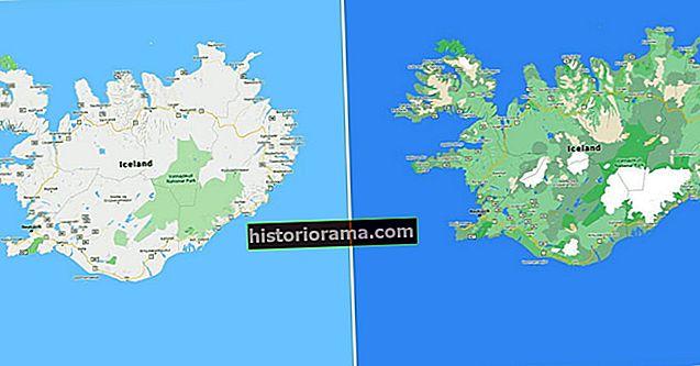 Подивіться, як Карти Google використовують колір, щоб додати ще більше деталей