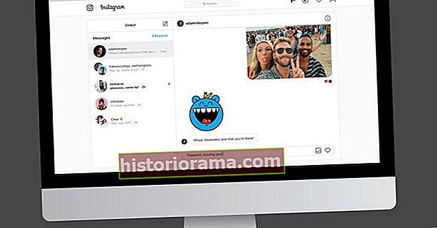 Надішліть DM із справжньою клавіатурою, коли Instagram перевіряє обмін повідомленнями на робочому столі