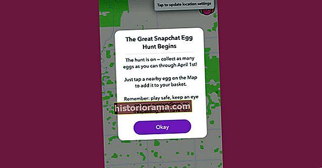 Snapchat приховує мільйон писанок на карті Snap у грі геокешингу