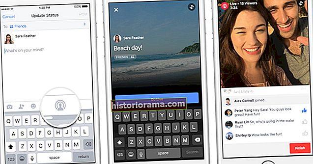 Facebook випускає оновлення в прямому ефірі з розширеними трансляціями та повноекранним відео