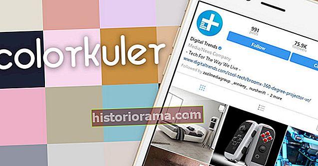Το ColorKuler θα δημιουργήσει μια παλέτα χρωμάτων με βάση το προφίλ σας στο Instagram