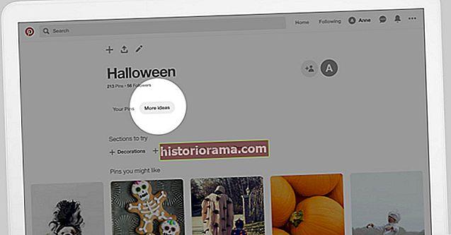 """Karta """"Ďalšie nápady"""" na Pintereste ponúka nové predstavy založené na vašich starých"""