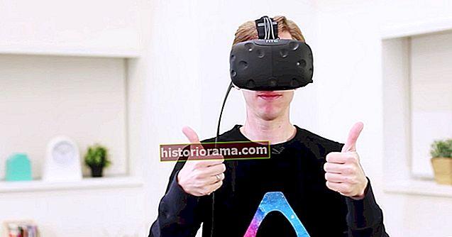 Screenshoty zcela neudělají spravedlnost VR, ale na zařízení HTC Vive to můžete udělat takto